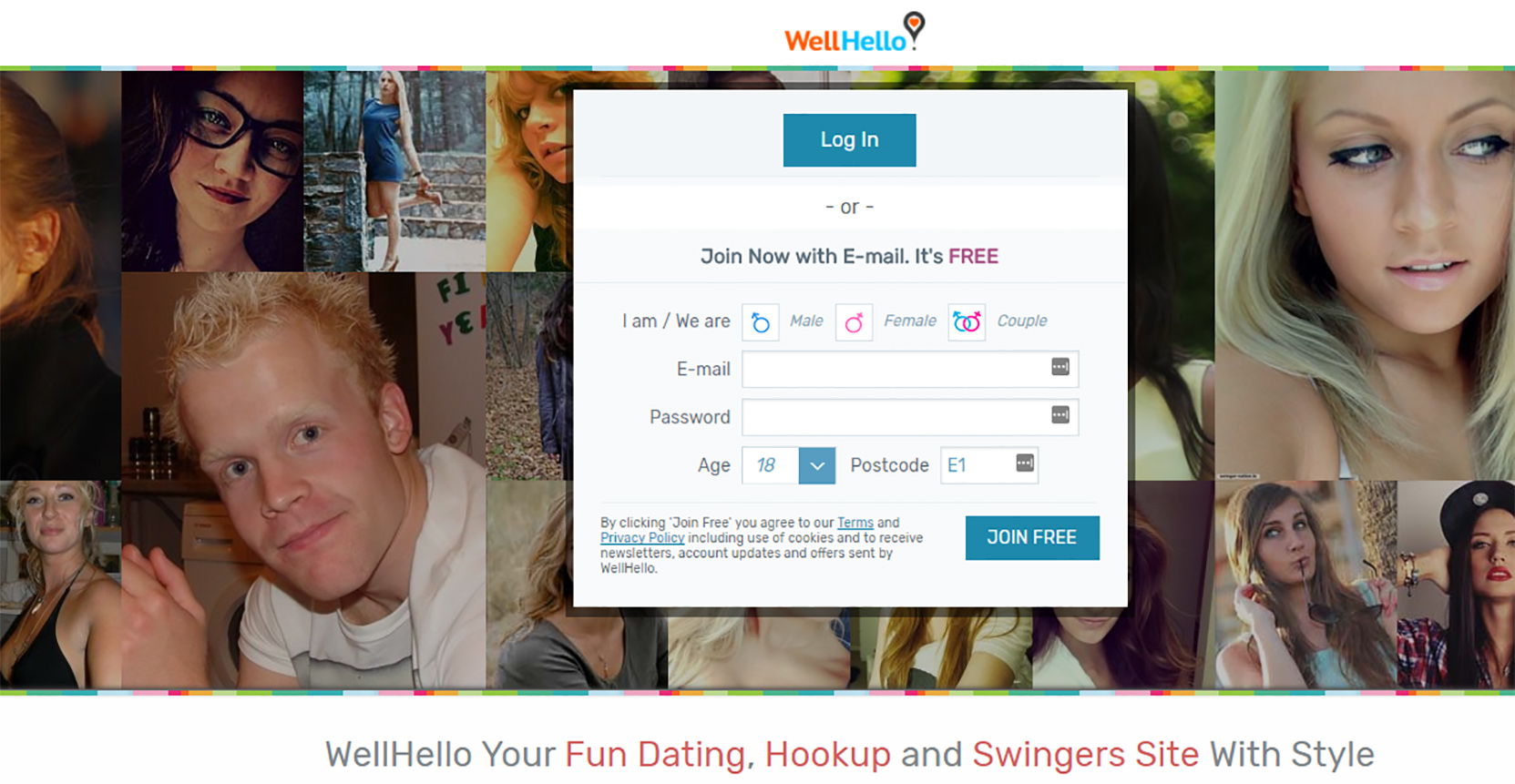 WellHello Signup