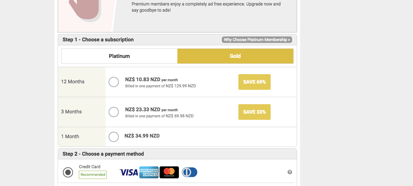 AsianDating Pricing NZ
