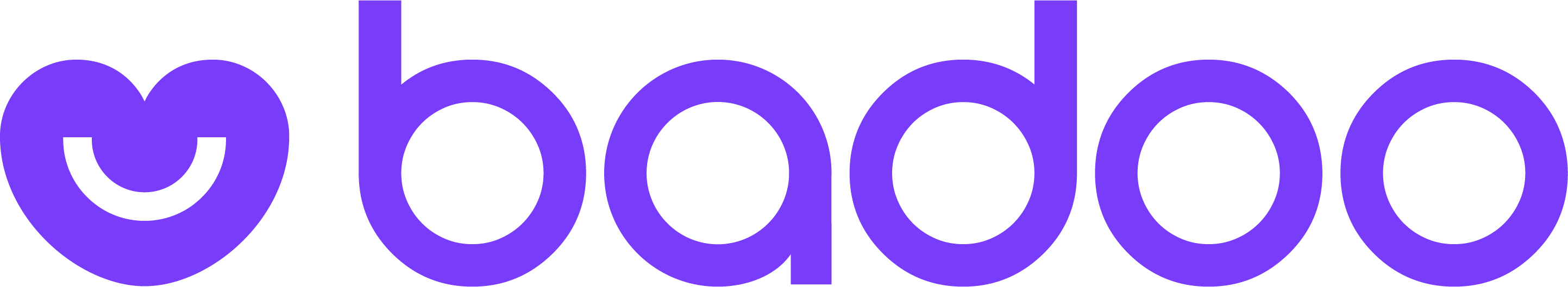 Logo Badoo Purple