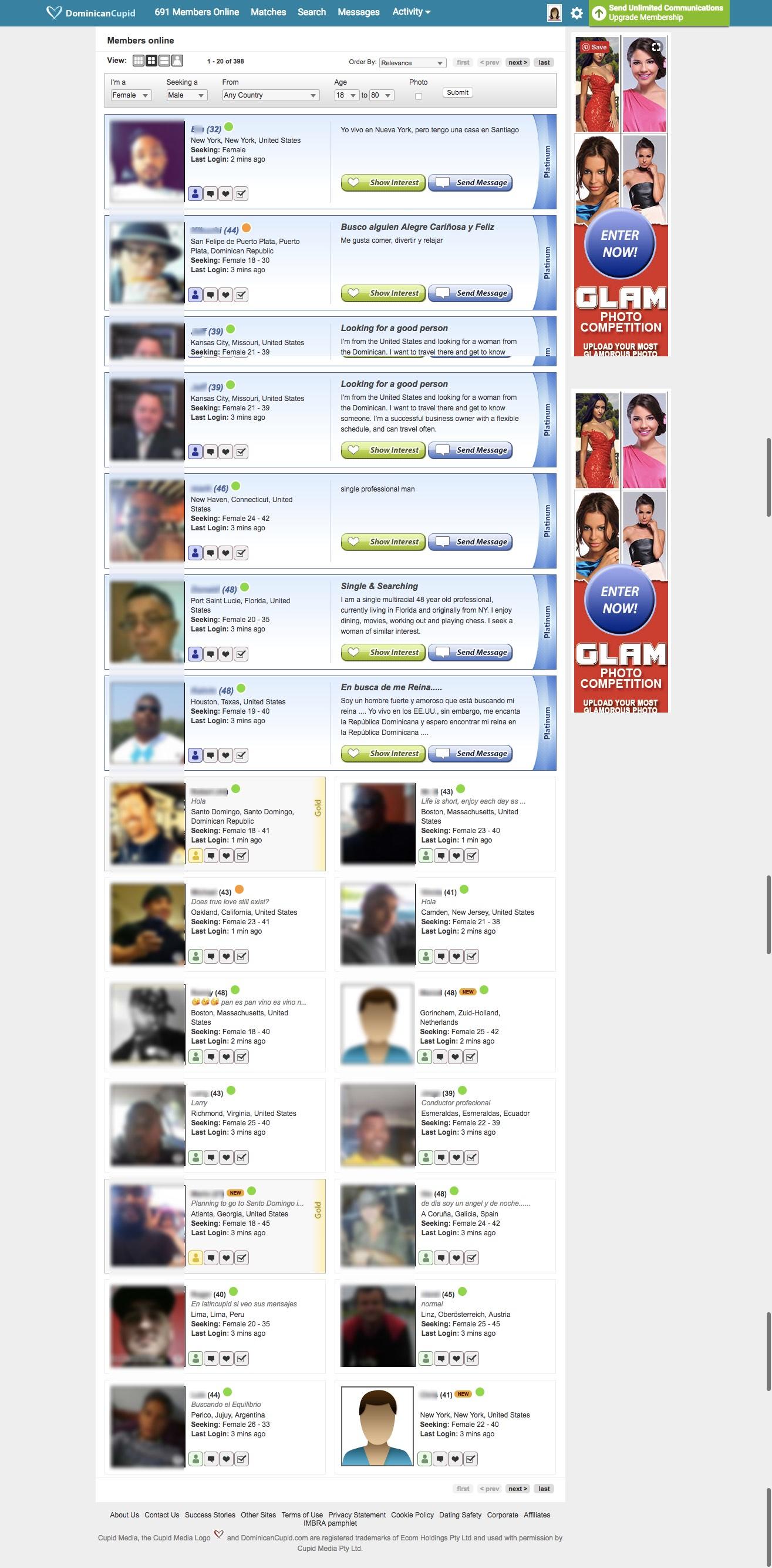 DominicanCupid Search