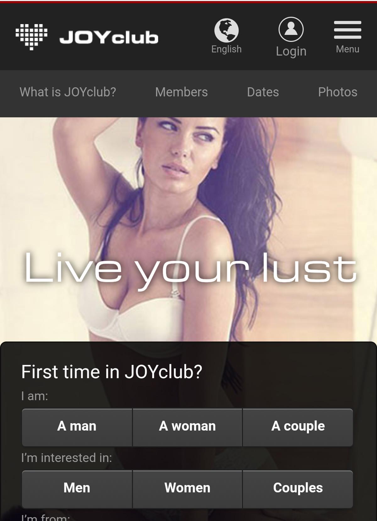 joyclub mobile app