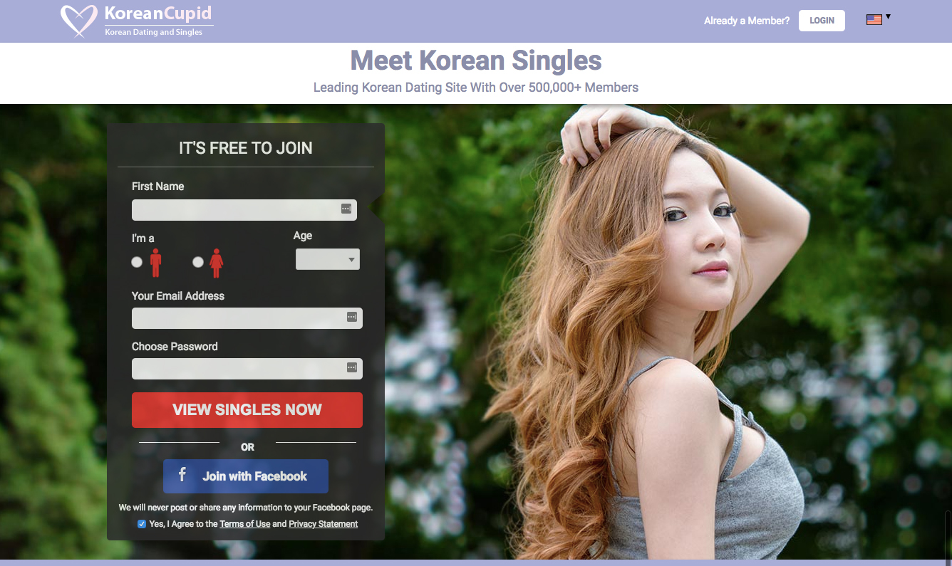 KoreanCupid registration