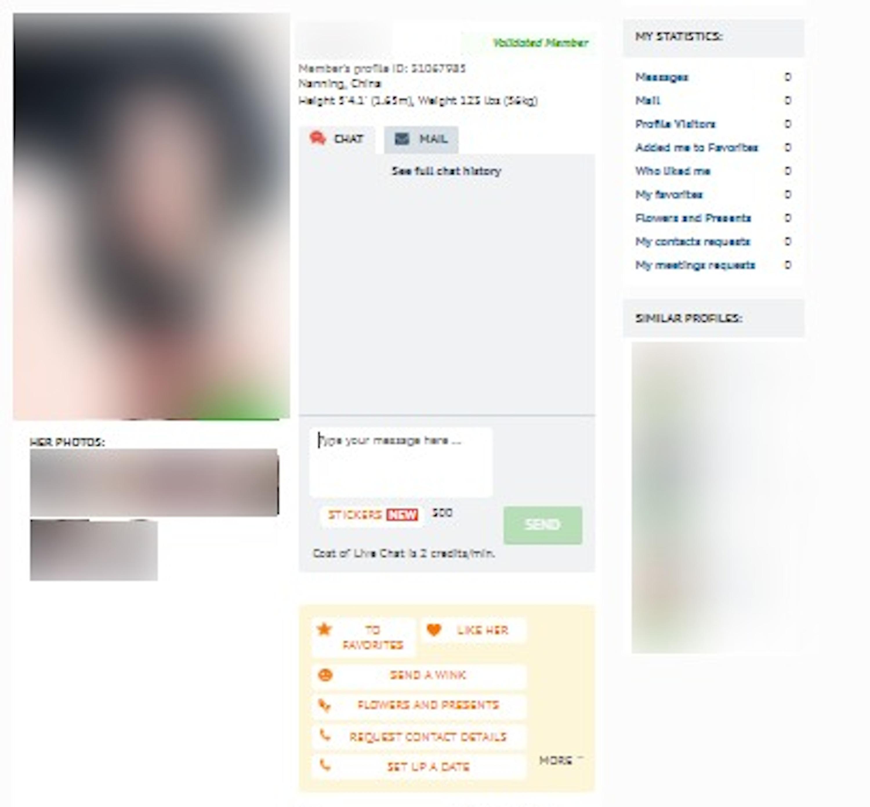 RomanceTale Member Profile