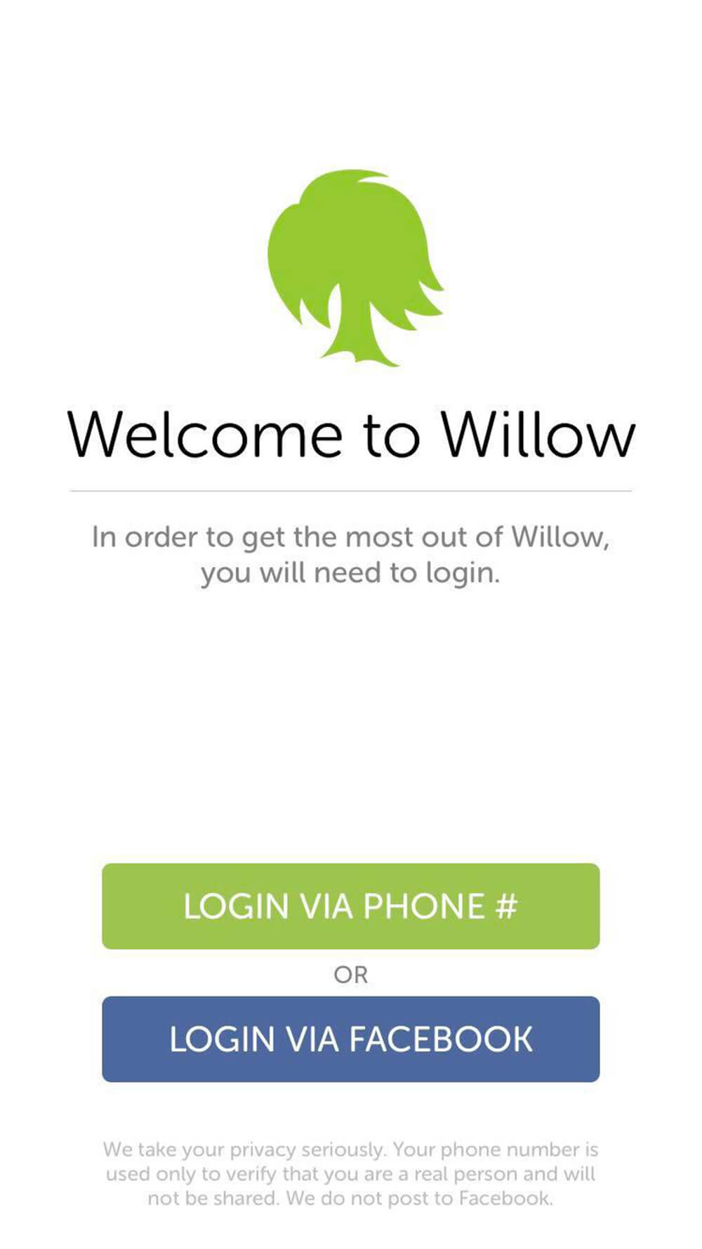 Willow Registration