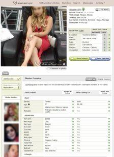 Mexican Cupid Female Profile