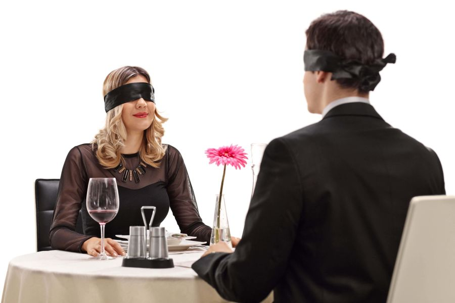 Couple on Blind Date