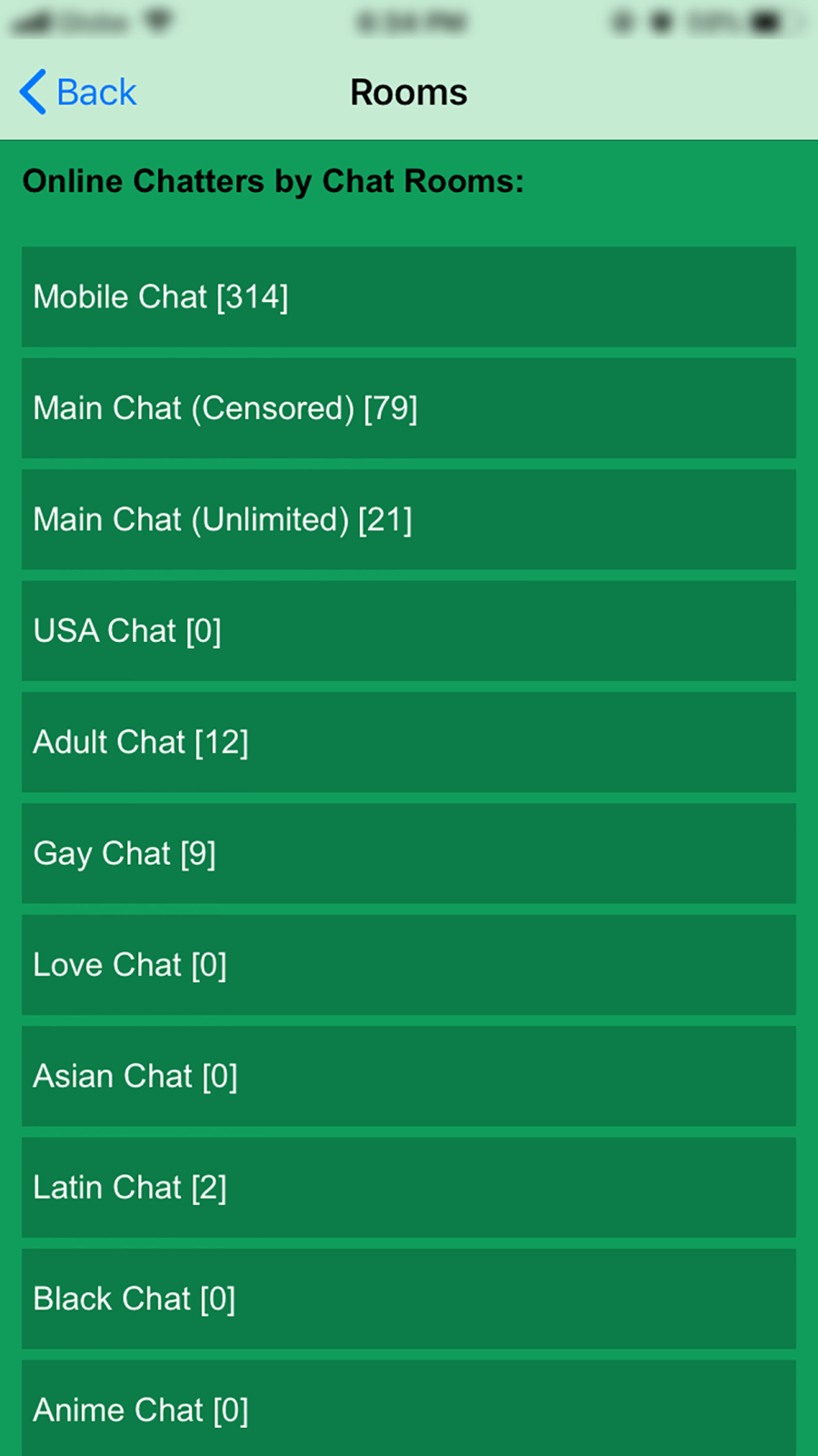 Chat Hour App Chat Room