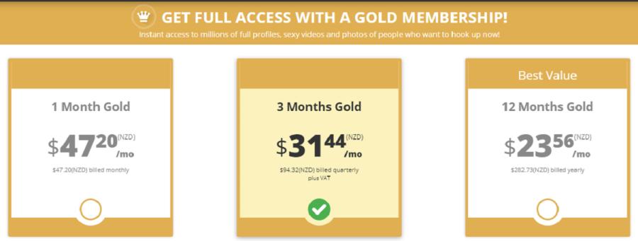 Mennation Cost NZ