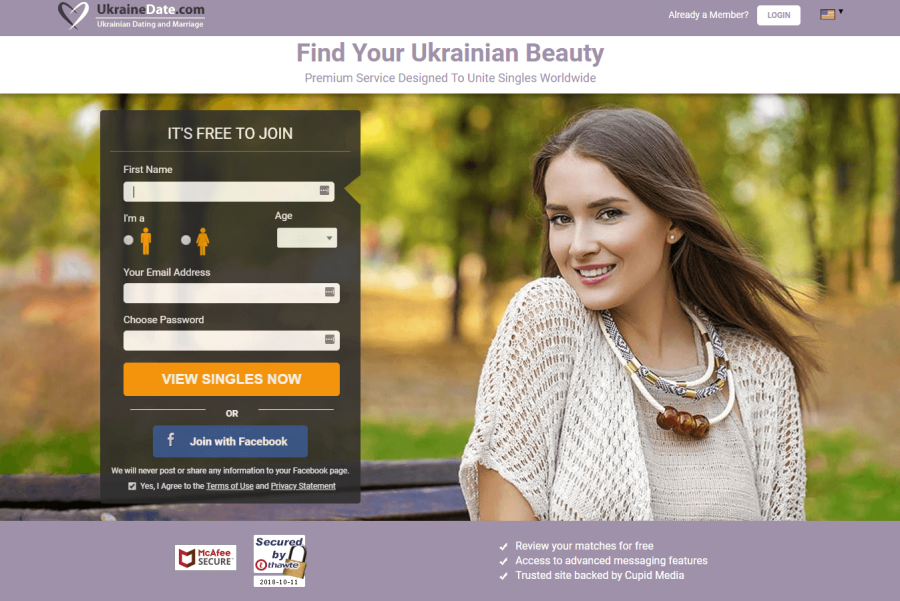 Ukraine Date Registration